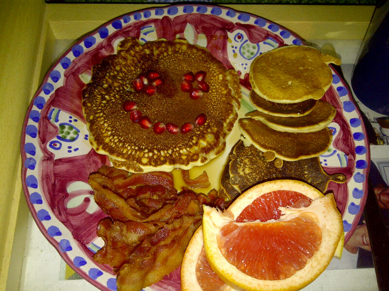 Inspiration - Mother's Day Pancake Platter - Undercover Chef - Nicolette Felix